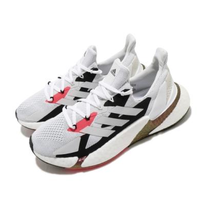 adidas 休閒鞋 X9000L4 襪套式 男女鞋 愛迪達 透氣 網布 球鞋穿搭 情侶鞋 白 紅 FW8388