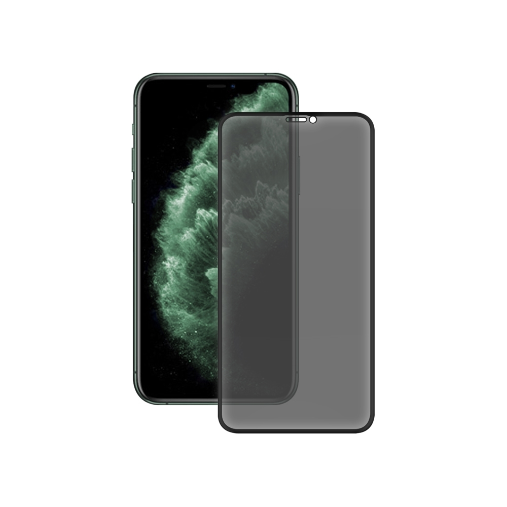 LUCCIDA Apple iPhone 11 Pro Max 3D冷雕防窺片【滿版】