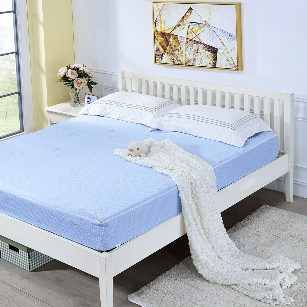戀香 3.5X6尺單人加大超厚感20CM舒適眠柔可折疊式獨立筒彈簧床墊