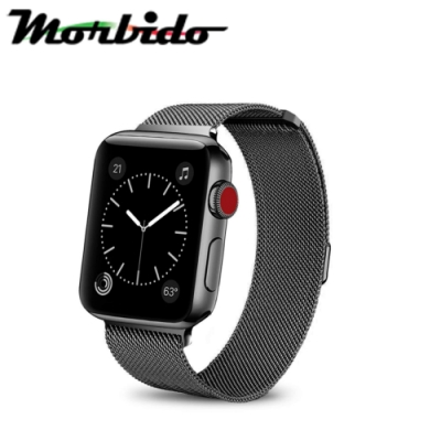 Morbido蒙彼多Apple Watch 42mm米蘭式磁吸不鏽鋼錶帶