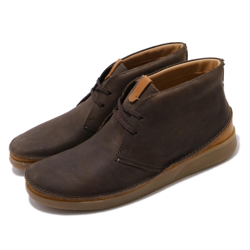 Clarks 休閒鞋 Oakland Rise 中筒 男鞋