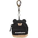 拉拉熊專用換裝系列背包零錢包吊飾。黑背包San-X