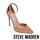 STEVE MADDEN-VOLT 時尚款 繞踝尖頭細跟高跟女鞋-卡其色 product thumbnail 1