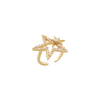 NOONOO FINGERS STAR RING 星星 戒指