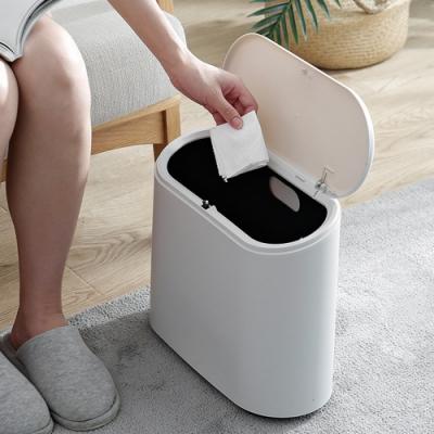 木暉北歐風膠囊隱形分類垃圾桶-2色