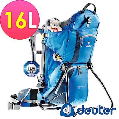 ATUNAS歐都納德國DEUTER行動嬰兒背架背包18L 36514藍深藍