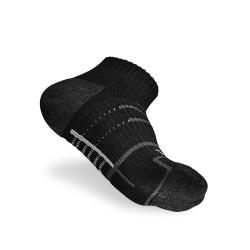 Titan 太肯 3雙健身訓練襪_黑色
