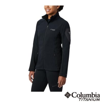 Columbia 哥倫比亞 女款- Omni-Shield 防潑鋁點保暖外套-黑色