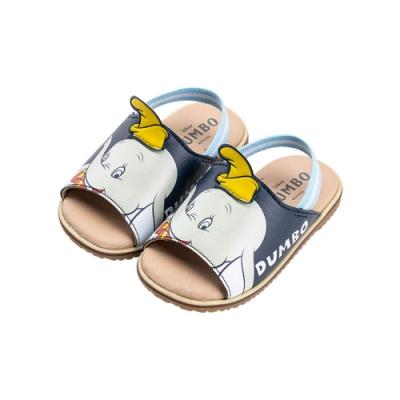 迪士尼童鞋 小飛象 立體大臉鬆緊帶涼鞋