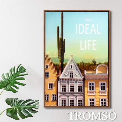 TROMSO北歐時代風尚有框畫-晴空歐陸WA140