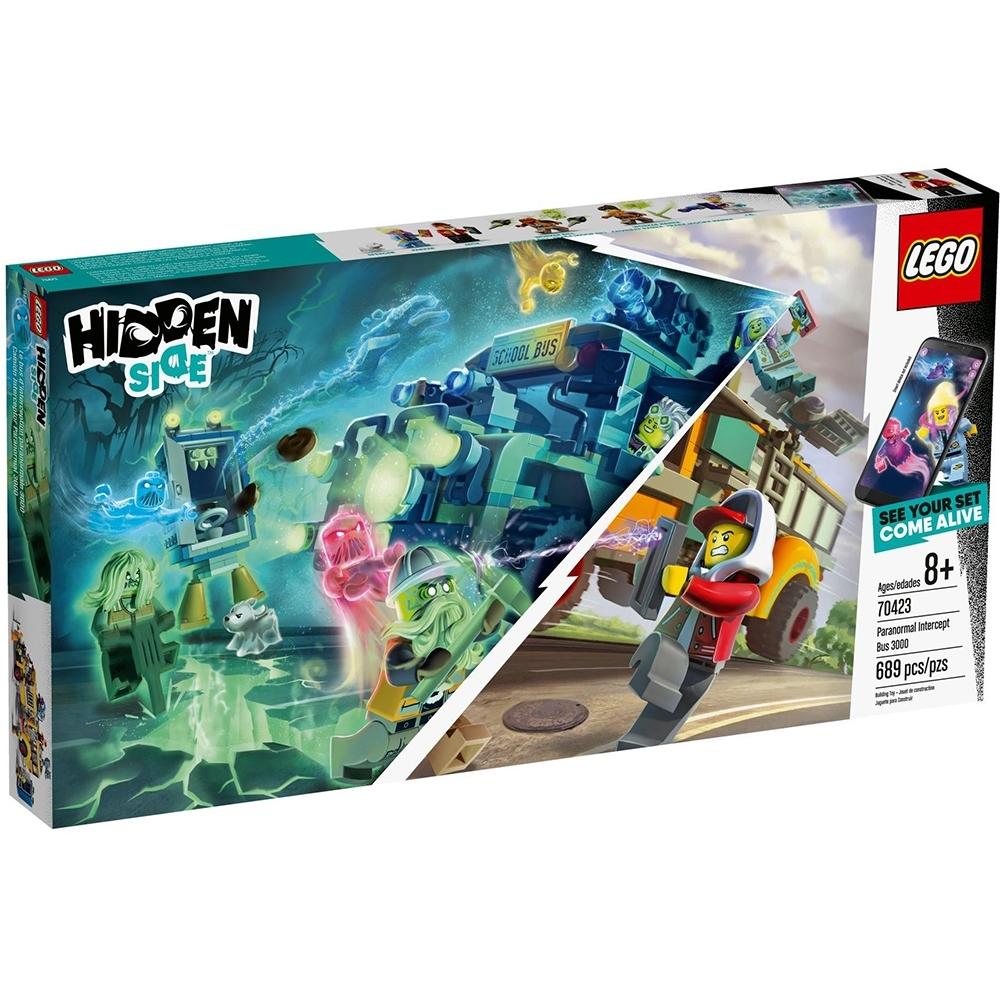 樂高LEGO 幽靈秘境系列 - LT70423 超自然攔截巴士3000