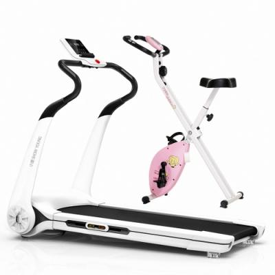 買一送一【 X-BIKE 晨昌】小漾 智能型跑步機/ SHOW YOUNG(贈磁控健身車)