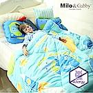 Milo & Gabby 動物好朋友-兒童大人款輕柔舒適FresiL棉被(DYLAN航太家)