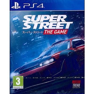 超級街道賽 Super Street: The Game - PS4 英文歐版