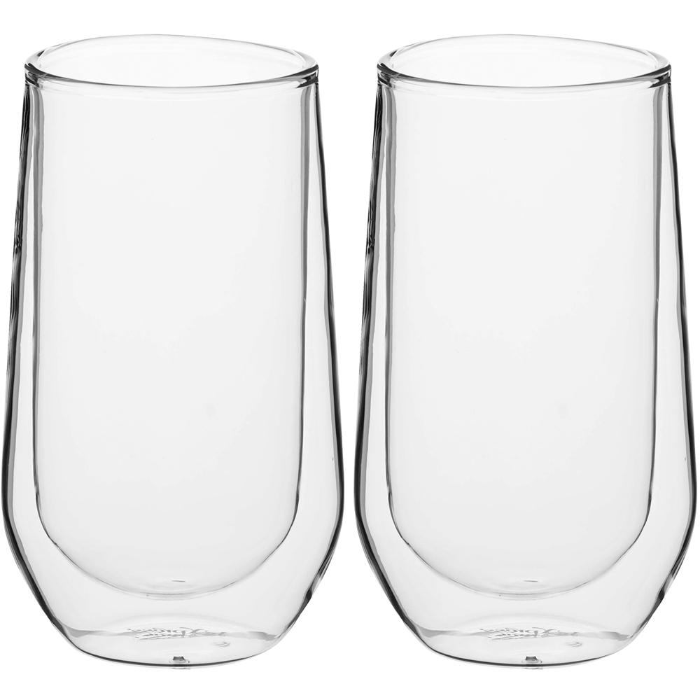 《KitchenCraft》雙層玻璃高球杯2入(380ml)