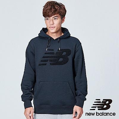 New Balance 雪呢絨刷毛長袖上衣AMT83568BK 中性 黑