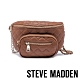 STEVE MADDEN-BSUBMIT 低調內斂金屬鍊條菱格母子個性腰包-咖啡色 product thumbnail 1