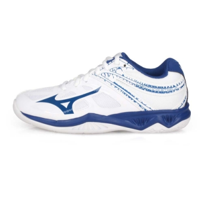 MIZUNO 兒童排球鞋 LIGHTNING STAR JR 白藍