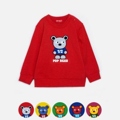 WHY AND 1/2 mini 普普熊棉質萊卡T恤 1Y~4Y 多色可選