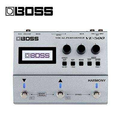 [無卡分期-12期] BOSS VE-500 人聲效果器
