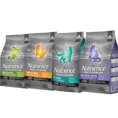 【2入組】Nutrience紐崔斯INFUSION天然糧系列 2.27kg(5lbs) 送全家禮卷50元*1張 購買第二件贈送寵鮮食零食*1包