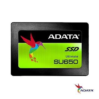 ADATA威剛 Ultimate SU650 960G SSD 2.5吋固態硬碟