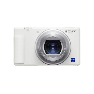 SONY 數位相機 ZV-1 晨曦白(公司貨)