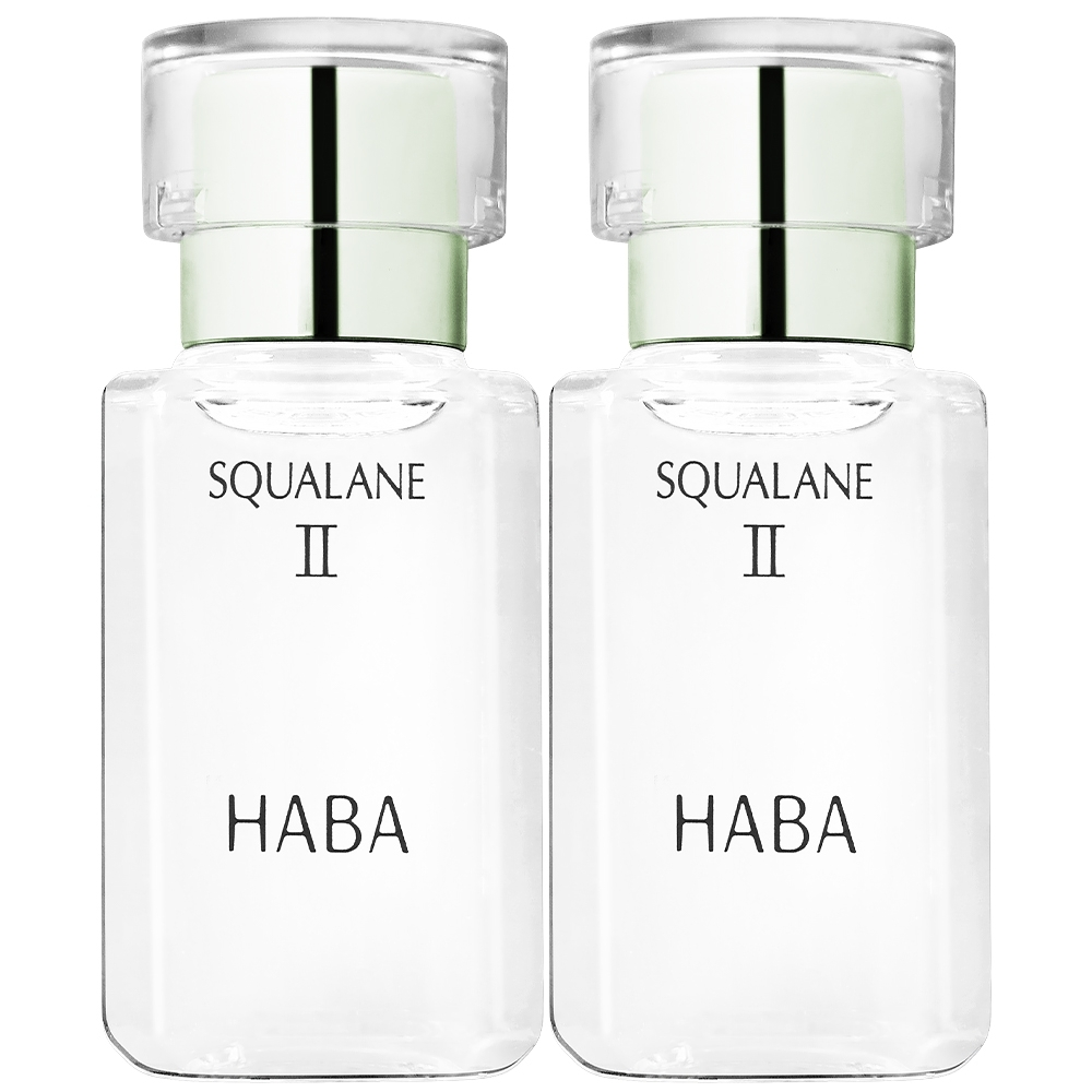 HABA 無添加主義 角鯊精純液II(30ml)*2