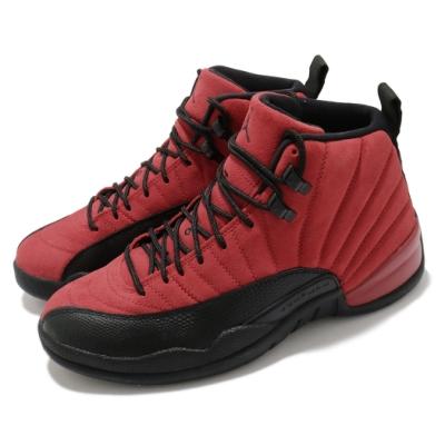 Nike 籃球鞋 Air Jordan 12 Retro 男鞋 經典款 AJ12 復刻 麂皮 喬丹 黑 紅 CT8013602