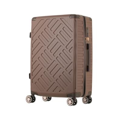 日本 LEGEND WALKER 5204-49-19吋 PP輕量行李箱 純摩卡