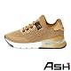 ASH-KRUSH LUREX透氣拼接編織氣墊運動鞋-金 product thumbnail 1