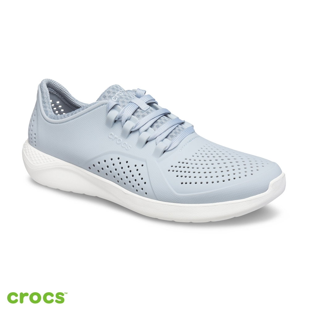 Crocs 卡駱馳 (男鞋) LiteRide徒步繫帶鞋-204967-0ID