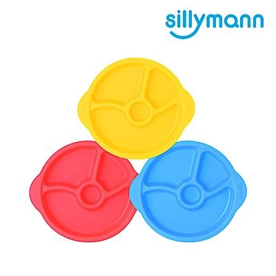 【韓國sillymann】 100%鉑金矽膠防滑幼兒學習餐盤(顏色任選)