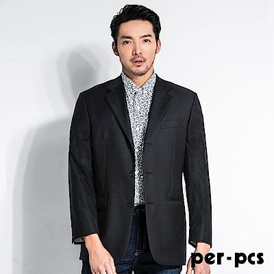 per-pcs 高質感羊毛時尚修身版商務西裝外套(707512)