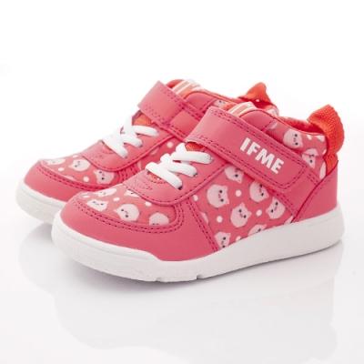 IFME健康機能鞋 護踝穩定鞋款 NI7SC1珊瑚紅(中小童段)