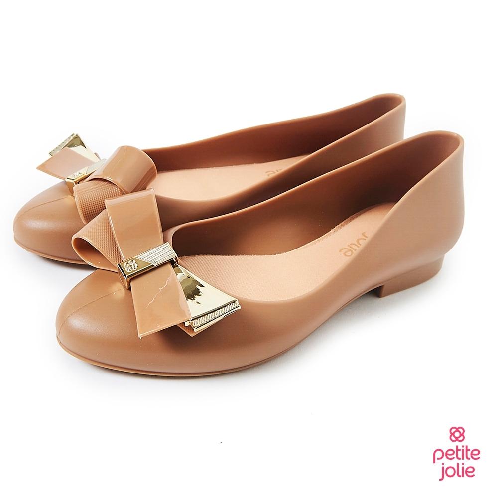 Petite Jolie--優雅蝴蝶結果凍娃娃鞋-牛奶糖