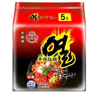 韓國不倒翁OTTOGI 辛辣拉麵(120gx5入)