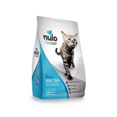 NULO紐樂芙-無穀高肉量纖體貓-智利鮭魚+左旋肉鹼 5lb (2.27kg) (隨機贈送340g*1包)
