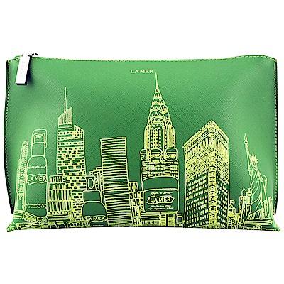 LA MER海洋拉娜 限量城市化妝包(綠色)