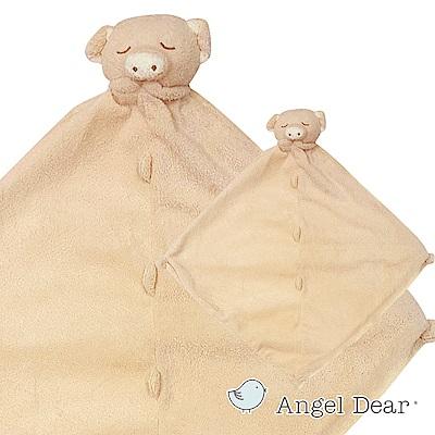 美國 Angel Dear 動物嬰兒安撫巾禮盒版 (豬寶寶系列)