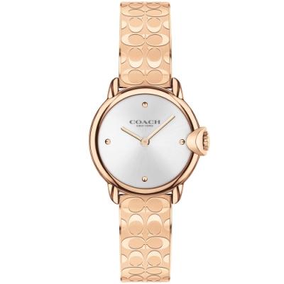 COACH 經典LOGO手環式腕錶-28mm(14503693)