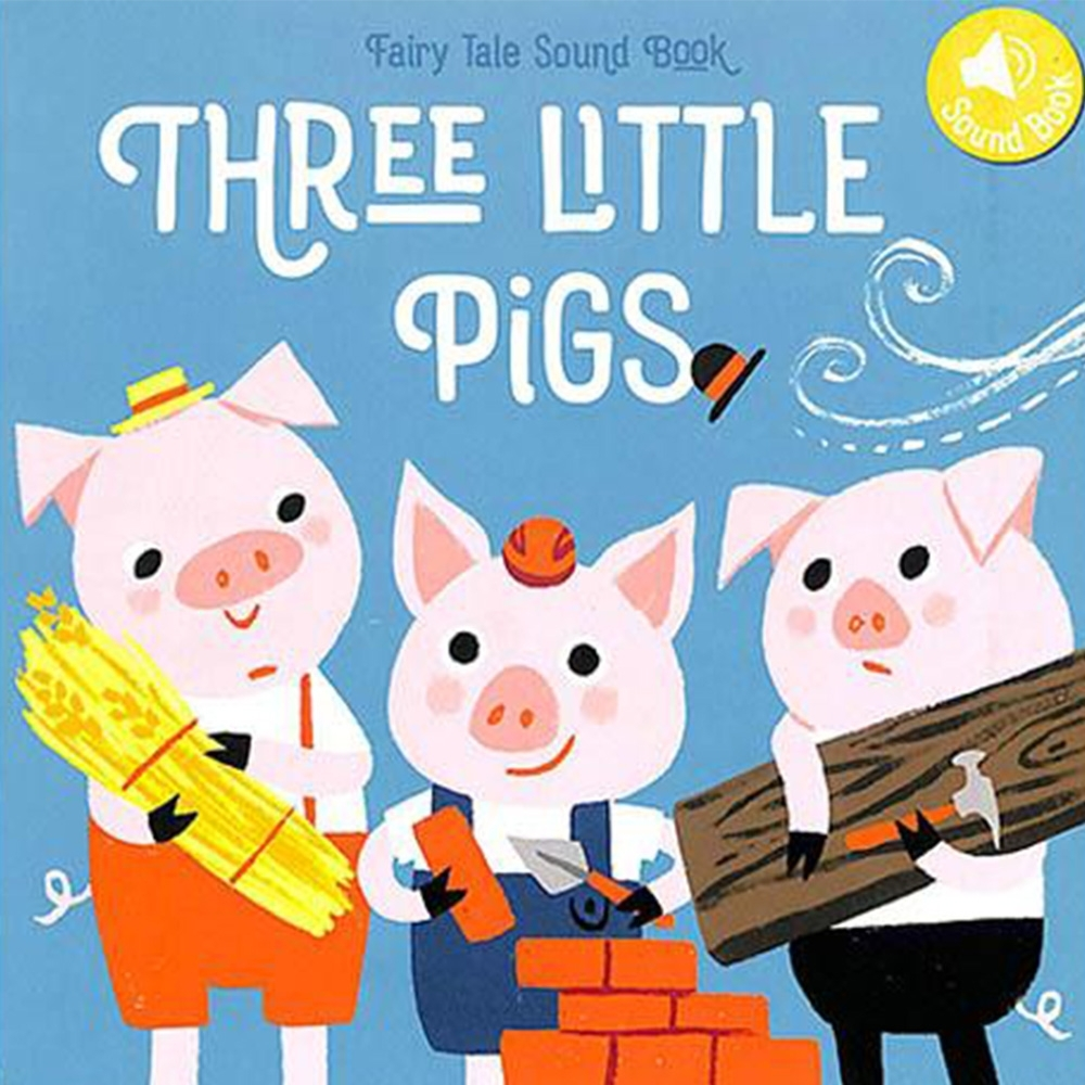Three Little Pigs Fairy Tale Sound Book 三隻小豬音效書