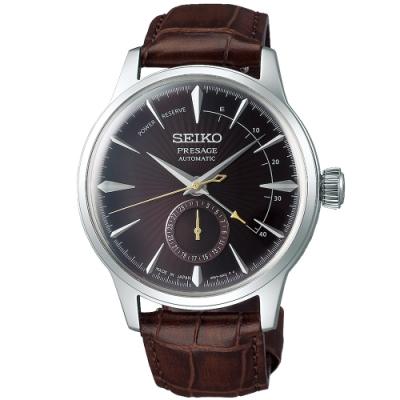 SEIKO精工 PRESAGE 調酒師中央動力儲存顯示機械錶(SSA393J1)