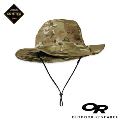 【美國Outdoor Research】迷彩款防水透氣防曬可折疊遮陽帽