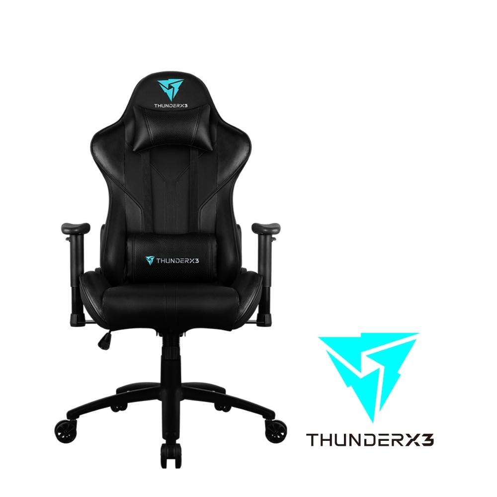 【ThunderX3】RC3 AIR系列 電競賽車椅(尊爵黑)