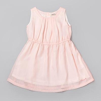 PIPPY 粉嫩小公主洋裝 粉橙