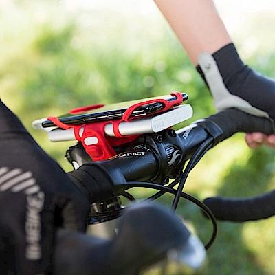 【Bone】單車龍頭手機雙用綁 Bike Tie Pro-Pack-紅