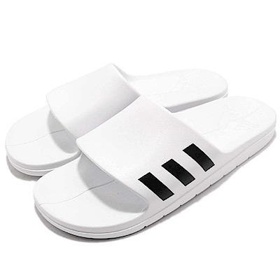 adidas 涼拖鞋 Aqualette 套腳 運動 男女鞋
