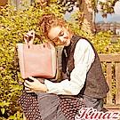 KINAZ 夢想巡禮兩用斜背水桶包-薔薇粉-愛德華王子島系列