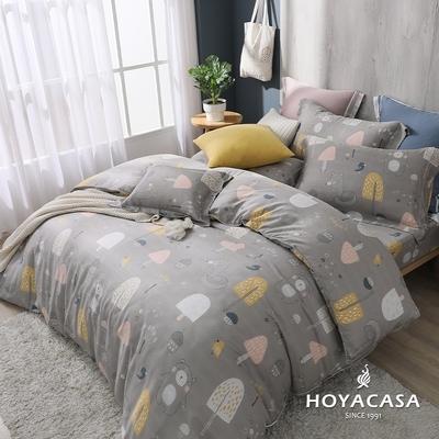 【HOYACASA 】雙人抗菌天絲兩用被床包四件組-萌樂園